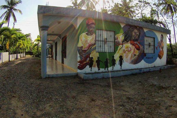 The FEDUJAZZ campus in Cabarete, the Dominican Republic.