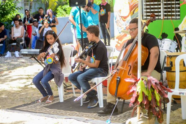 FEDUJAZZ students perform at the End of Year Concert, 2017.