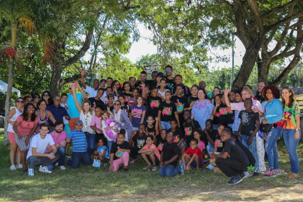 FEDUJAZZ students, teachers, volunteers, Executive Board, and donors enjoy a special event at Sea Horse Ranch, December 2018.